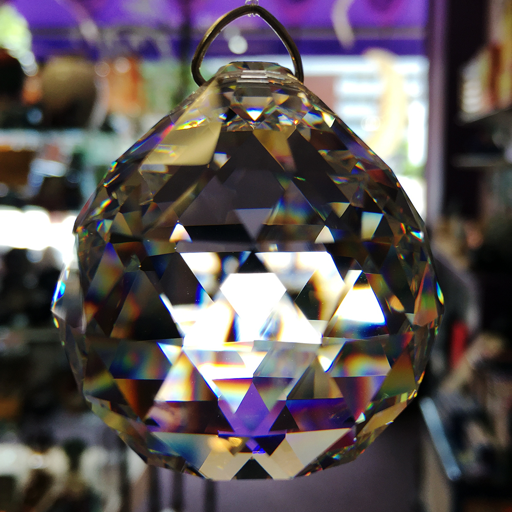 Crystal Suncatcher Orb
