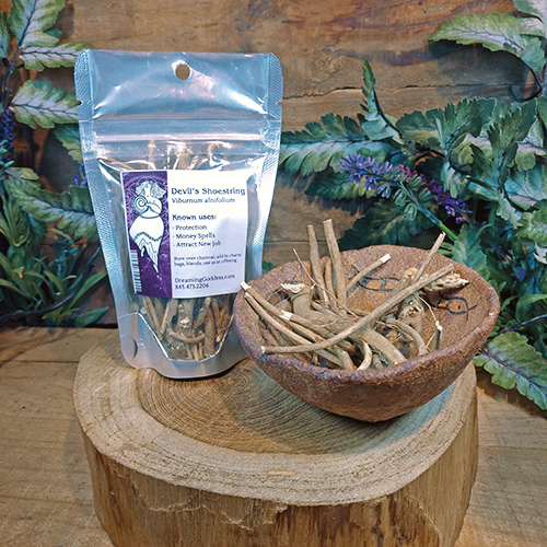 Devil's Shoestring Herbs at DreamingGoddess.com