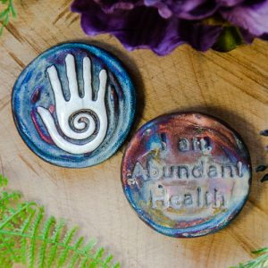 Healing Hand Spirit Medallion at DreamingGoddess.com