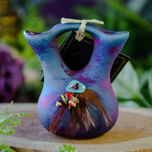 Small Raku Wedding Vase at DreamingGoddess.com