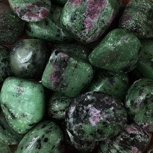Ruby on zoisite