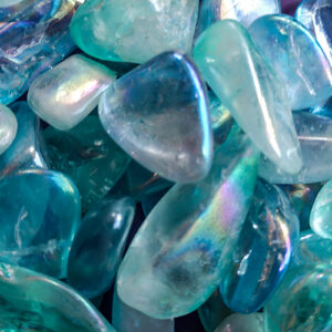 Aqua Aura Quartz at DreamingGoddess.com
