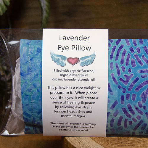Organic Lavender Eye Pillows
