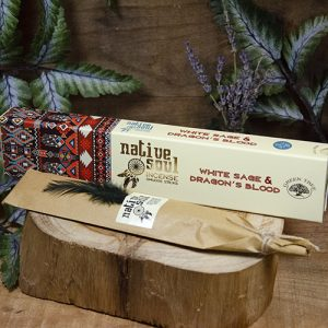 White Sage and Dragon's Blood ~ Native Soul Incense