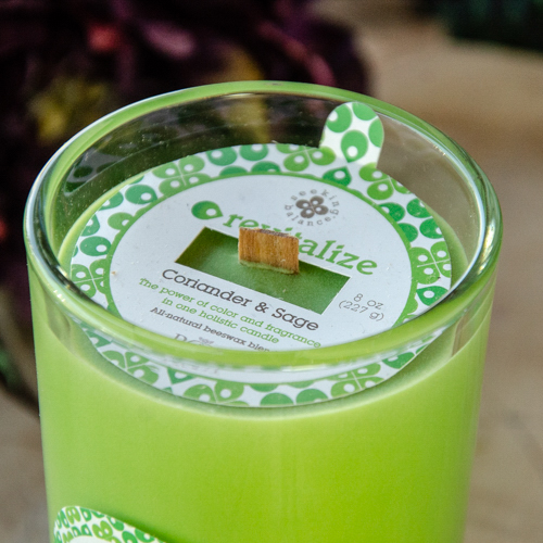 Seeking Balance Candle ~ Revitalize