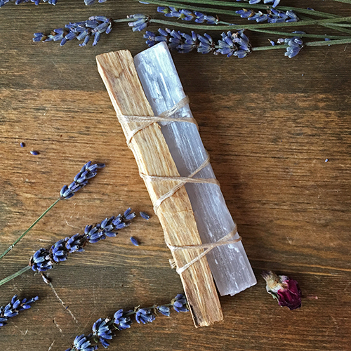 Palo Santo and Selenite Bundle