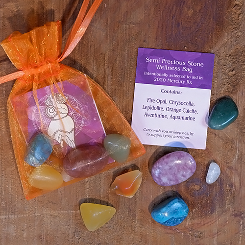 stone wellness bag retrograde