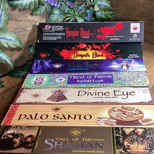 Natural Masala Incense sticks at Dreaming Goddess.