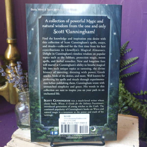 Cunningham's Magical Sampler ~ Collected Writings and Spells from the Renowned Wiccan Author at DreamingGoddess.com