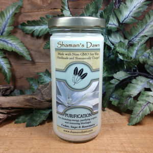Shaman's Dawn Purification Candle at DreamingGoddess.com