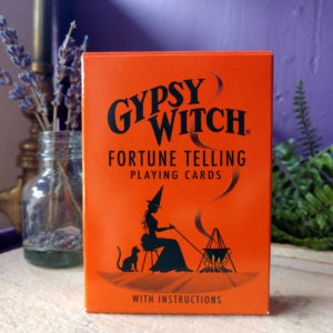 Gypsy Witch Fortune Telling Playing Cards with Instructions at DreamingGoddess.com