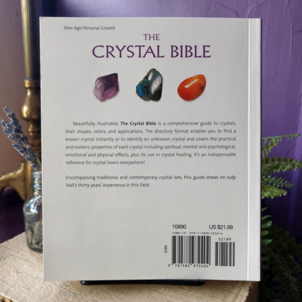The Crystal Bible ~ A Definitive Guide to Crystals by Judy Hall at DreamingGoddess.com