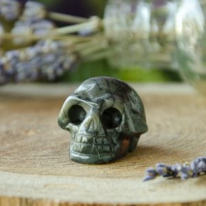 Bloodstone Skull at the Dreaming Goddess