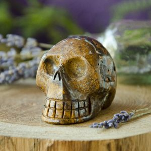 Boulder Opal Skull at the Dreaming Goddess