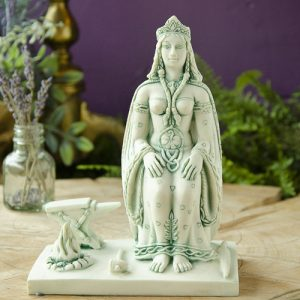 Brigid Statue at the Dreaming Goddess