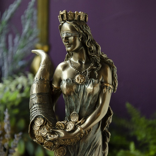 Fortuna Statue at the Dreaming Goddess