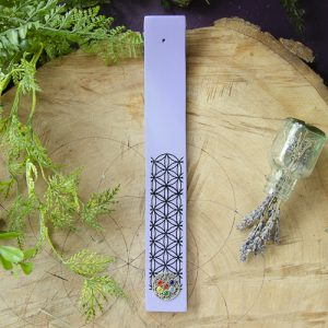Purple Flower of Life Incense Burner at the Dreaming Goddess