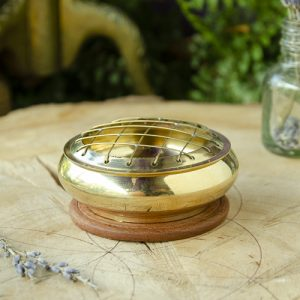 Brass Incense Burner at the Dreaming Goddess