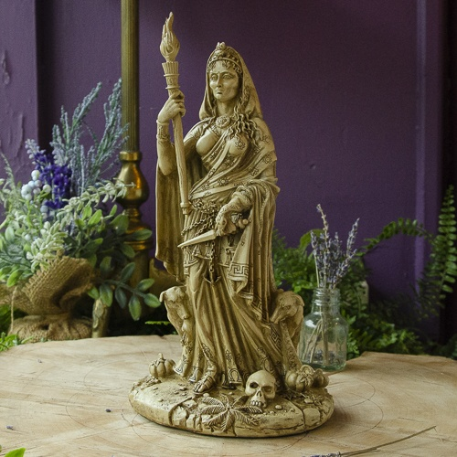 Hecate Statue at the Dreaming Goddess