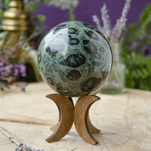 Kambaba Jasper Sphere at DreamingGoddess.com