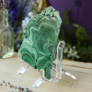Lucite Slab Stand at the Dreaming Goddess
