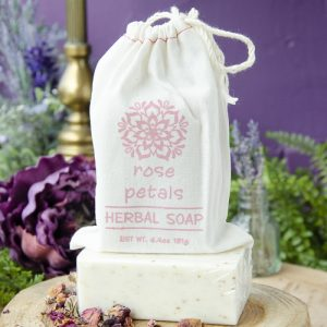 Rose Petals Herbal Soap at DreamingGoddess.com