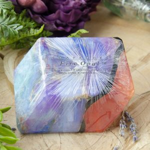 Fire Opal Soap Rocks at DreamingGoddess.com