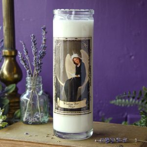 Wishing Star Angel Candle at DreamingGoddess.com