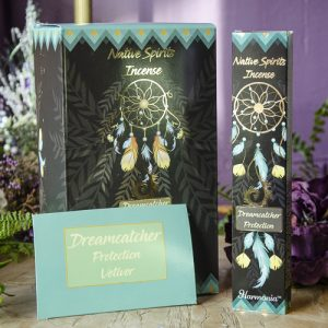 Dreamcatcher Protection Native Spirits Incense at DreamingGoddess.com