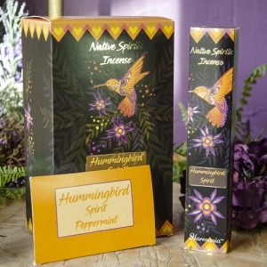 Hummingbird Native Spirits Incense at DreamingGoddess.com