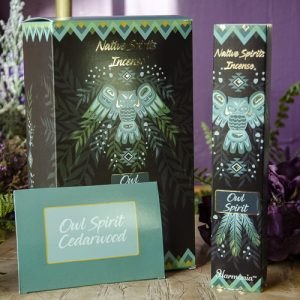 Owl Native Spirits Incense at DreamingGoddess.com
