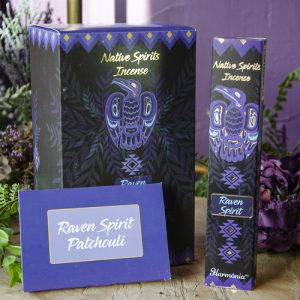 Raven Native Spirits Incense at DreamingGoddess.com