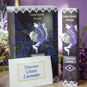 Shaman Vision Native Spirits Incense at DreamingGoddess.com
