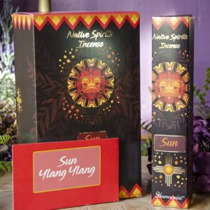Sun Native Spirits Incense at DreamingGoddess.com