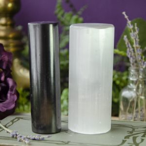 Selenite and Shungite Harmonizers at DreamingGoddess.com