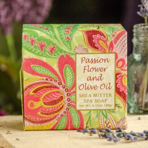 Passion Flower Shea Butter Soap at DreamingGoddess.com