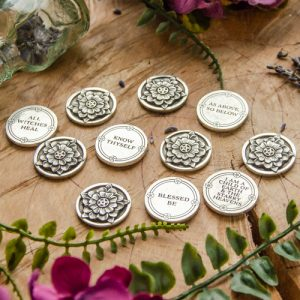 Pewter Witches Wisdom Charms