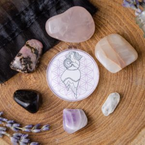 DG Grief Support Crystal Wellness Bags at DreamingGoddess.com
